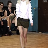 Chloe Sevigny for Opening Ceremony Resort 2012 Collection Runway Photos