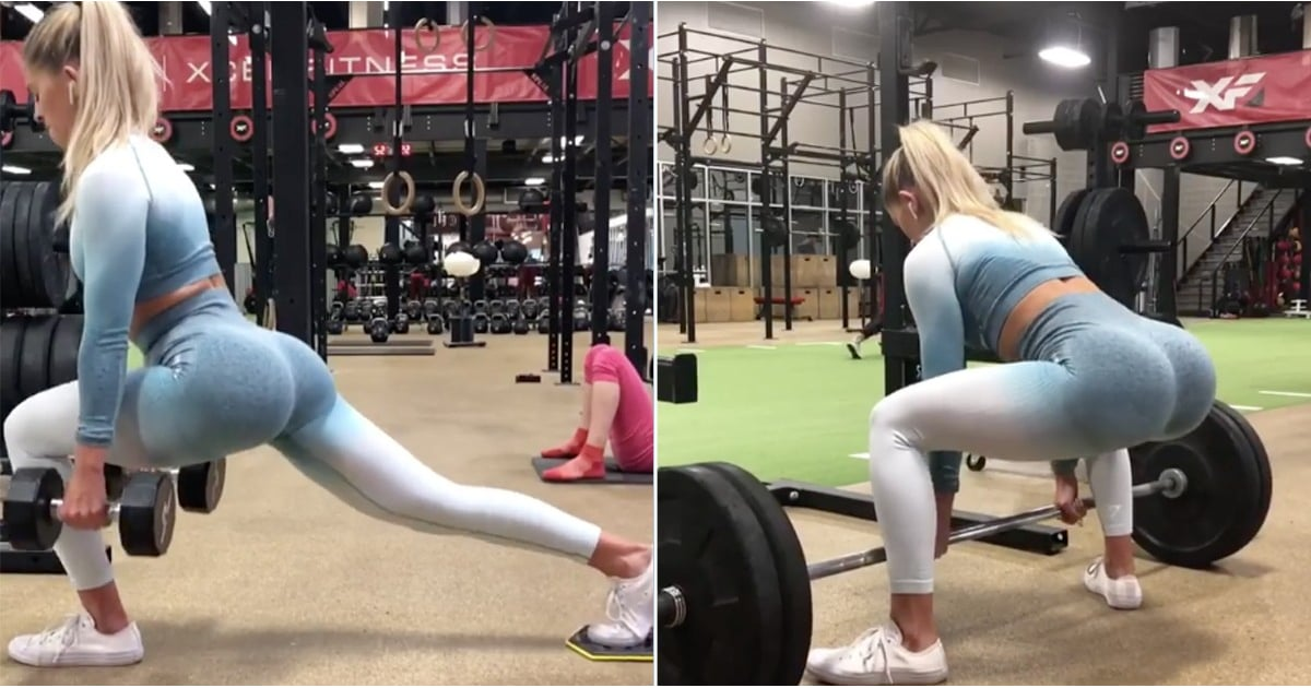 Quick Gym Butt Workout | POPSUGAR Fitness