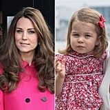 Princess Charlotte Looking Like Duchess of Cambridge