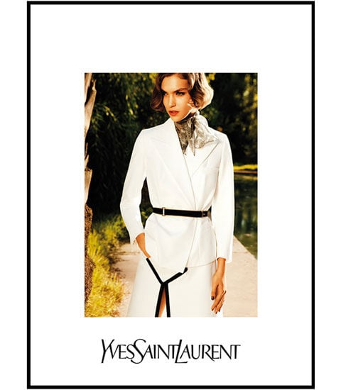 Model Arizona Muse New Face of YSL For Spring 2011