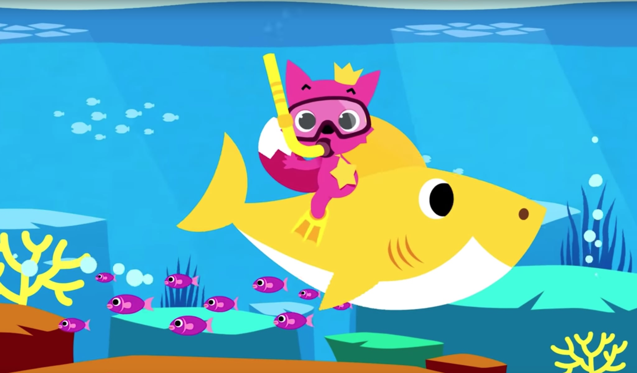 pinkfongs viral childrens song baby shark has officially taken the reins on the world with the latest piece of news regarding the kiddo bop