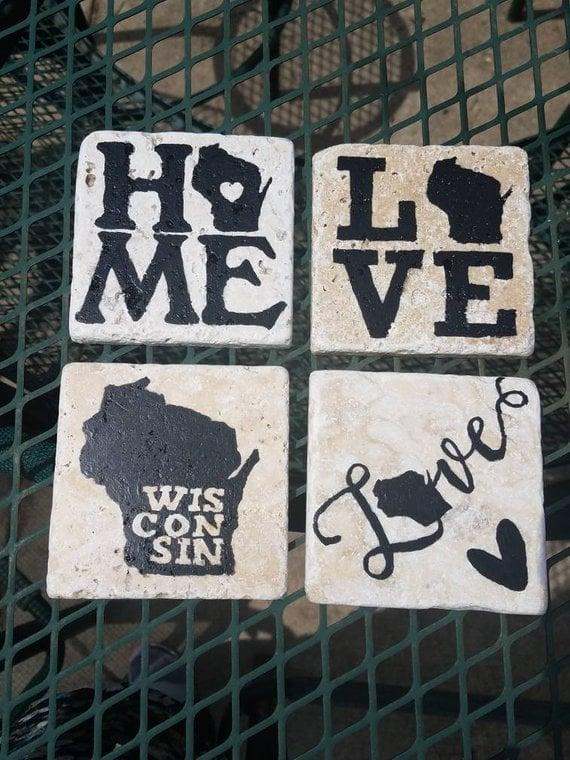 Wisconsin Coasters
