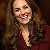 Kate Middleton laughed during the event.