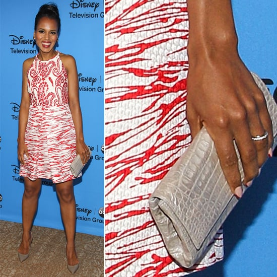 Kerry Washington Debuts Her Wedding Ring at the TCAs!