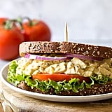 Garlic Hummus Chicken Salad Sandwich