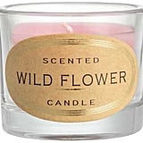 Scented Candle in Glass Holder ($2)