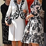 Camilla, Duchess of Cornwall, and Sophie, Countess of Wessex