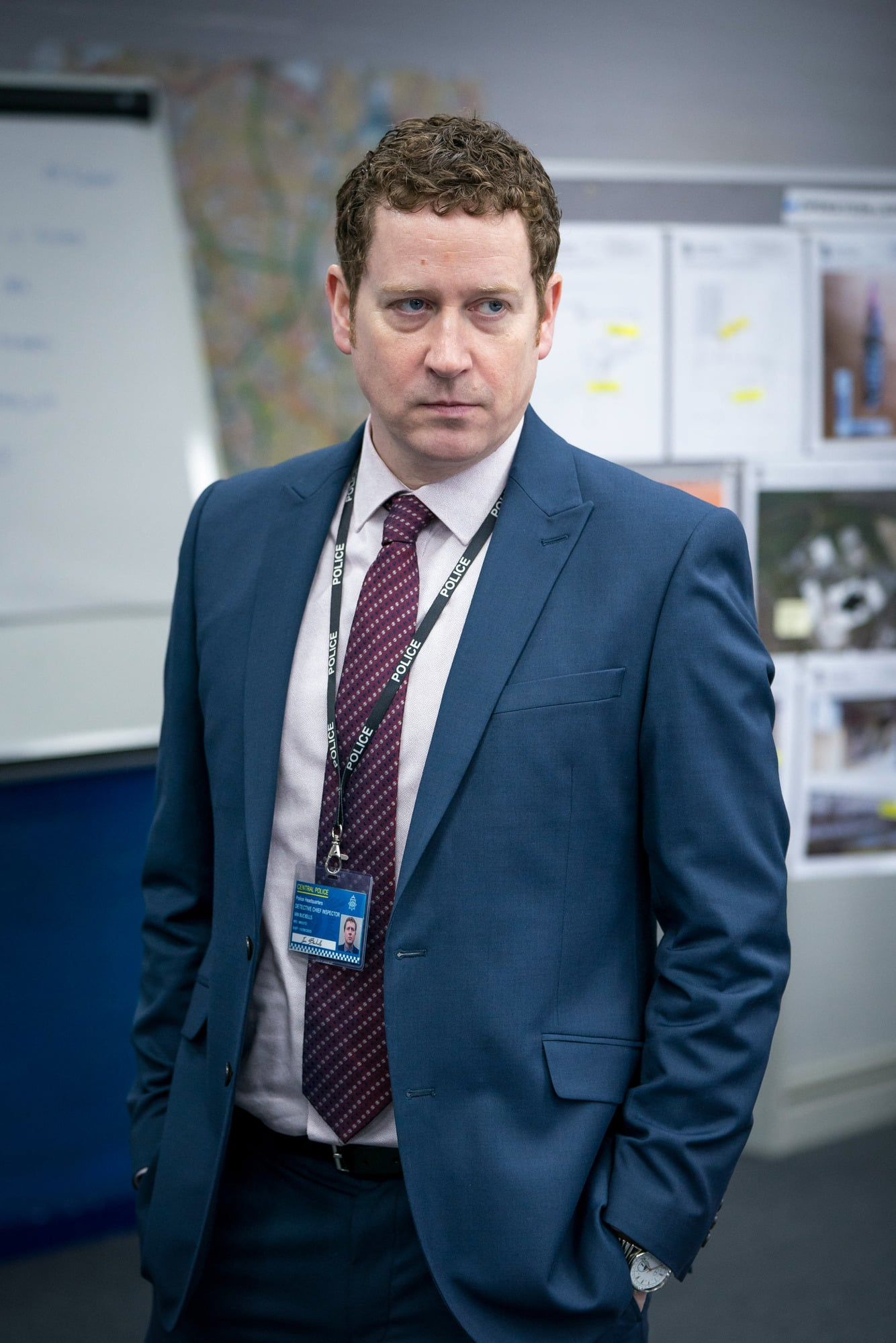 WARNING: Embargoed for publication until 00:00:01 on 23/03/2021 - Programme Name: Line of Duty S6 - TX: n/a - Episode: Line Of Duty - Ep 2 (No. n/a) - Picture Shows:  DCI Ian Buckells (NIGEL BOYLE) - (C) World Productions - Photographer: Steffan Hill
