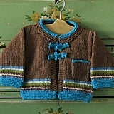Brown & Turquoise Stripe Wool Sweater ($40)