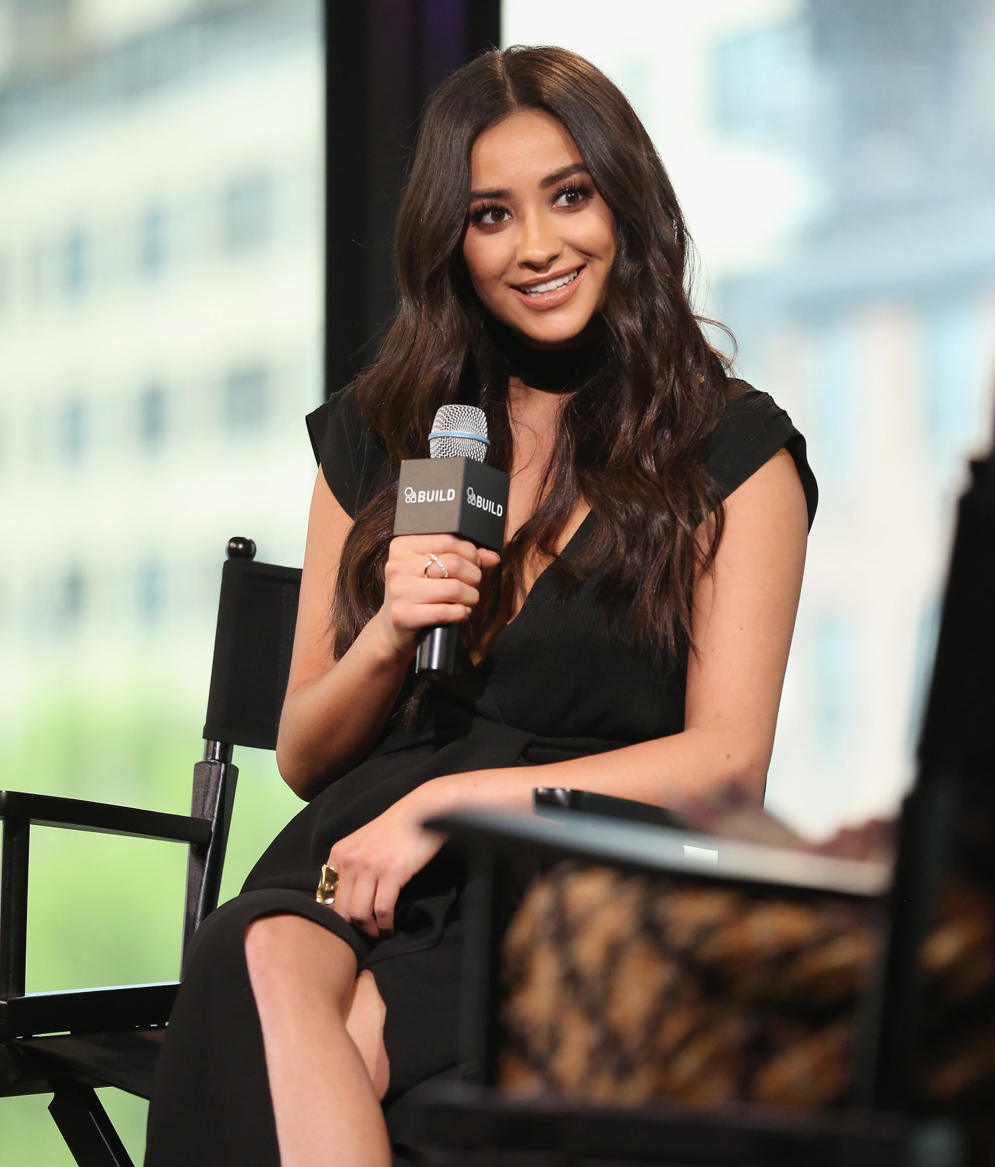 NEW YORK, NY - APRIL 25:  Shay Mitchell attends AOL Build Presents:
