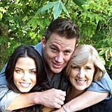 Channing Tatum spent Mother's Day with wife Jenna Dewan and his mom, Kay.  Source: Instagram user channingtatumunwrapped