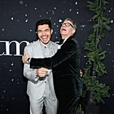 Henry Golding and Paul Feig at the Last Christmas Premiere