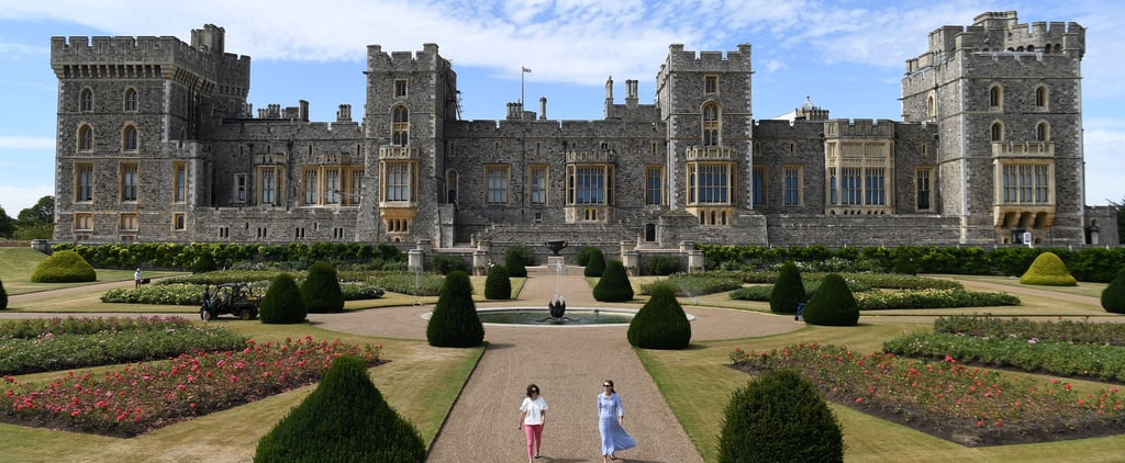 Windsor Castle East Terrace Garden Opens to the Public