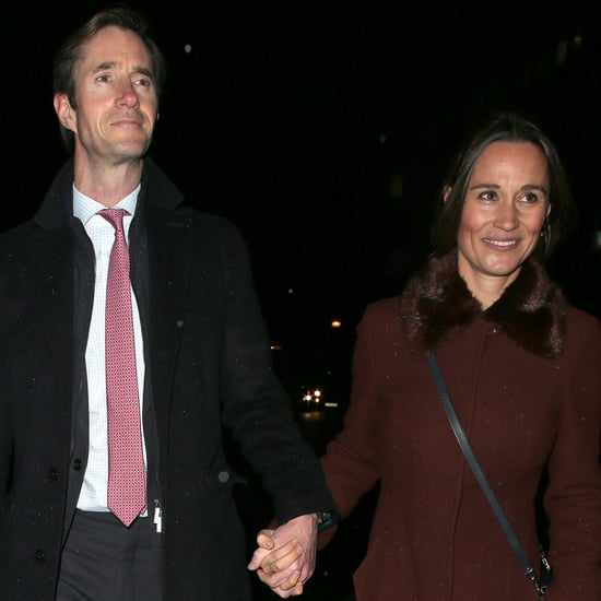 Pippa Middleton and James Matthews in London December 2018