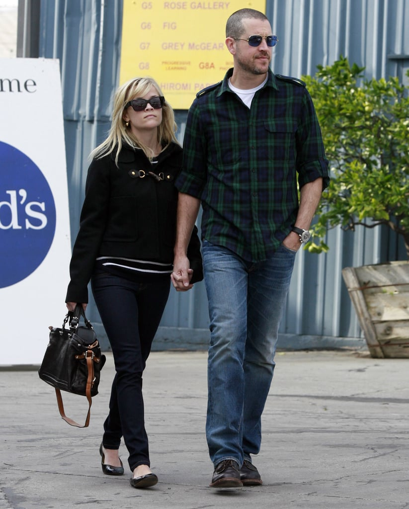 Pictures of Reese Witherspoon Leaving Church in LA With Jim Toth