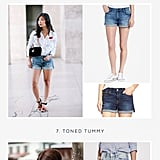 Denim Shorts by Body Type