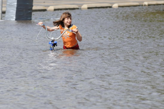 Pictures of Iowa Flood, Mississippi and Cedar River Rise