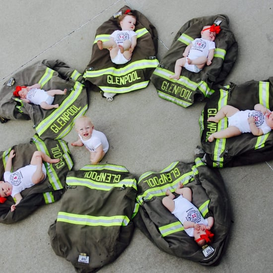 Firefighters Who Had Kids at the Same Time