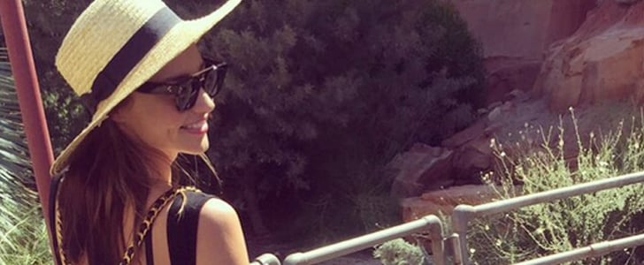 Miranda Kerr's Picture of Flynn July 2015