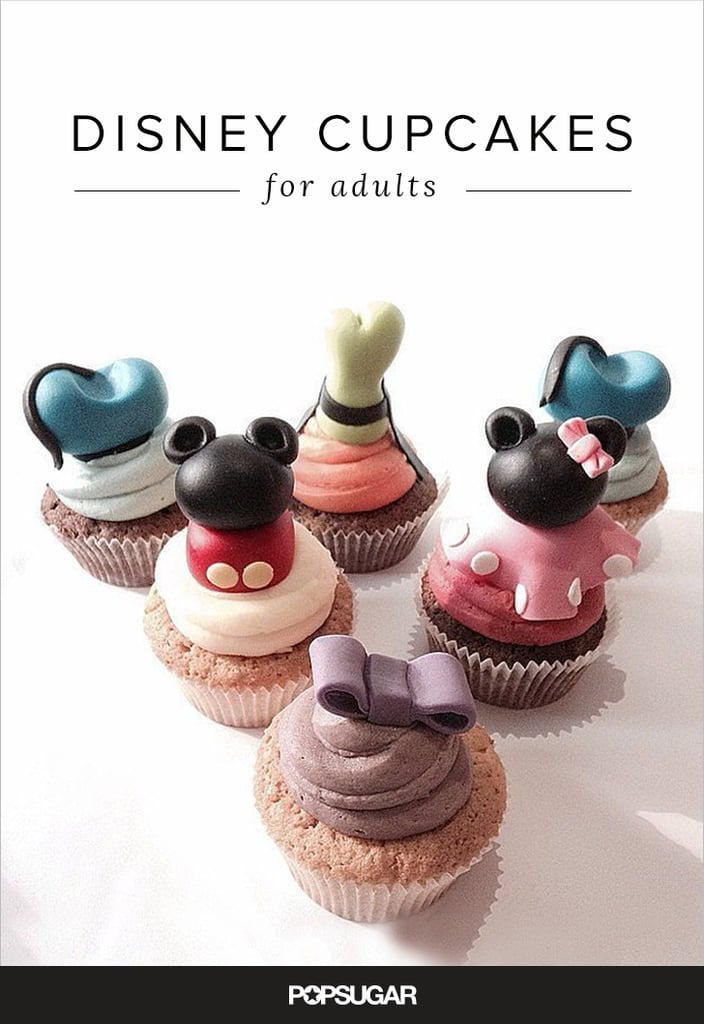 Disney Cupcakes For Adults