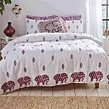 Ivory Ella Lauren Comforter Set