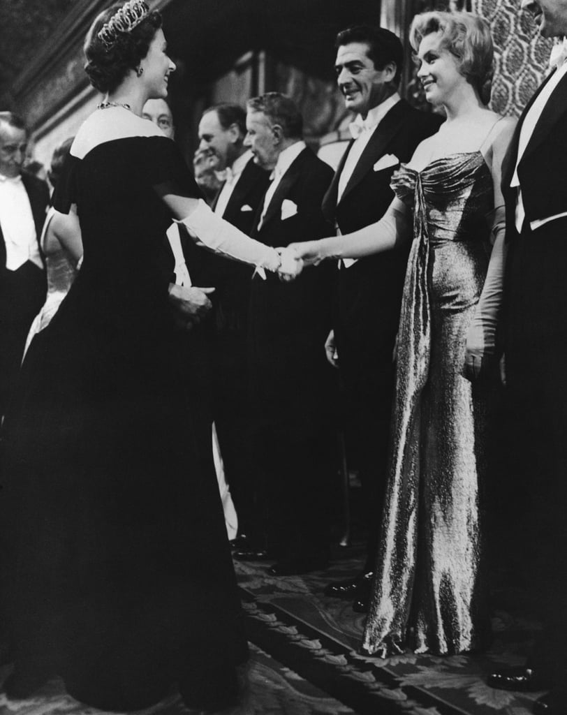The Queen and Marilyn Monroe