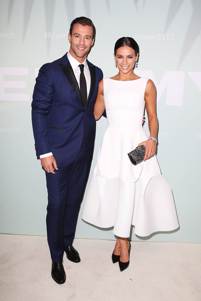 Kris Smith And Maddy King In Arthur Galan Ag At The Myer Spring