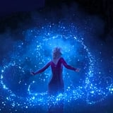 Elsa seems to be experimenting with some of the new magic she finds in the Enchanted Forest.
