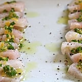 Halibut Crudo With Lemon Oil