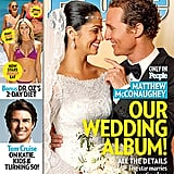 After two children together and five years of dating, Matthew McConaughey and Camila Alves walked down the aisle at their home in Austin, TX, in June.