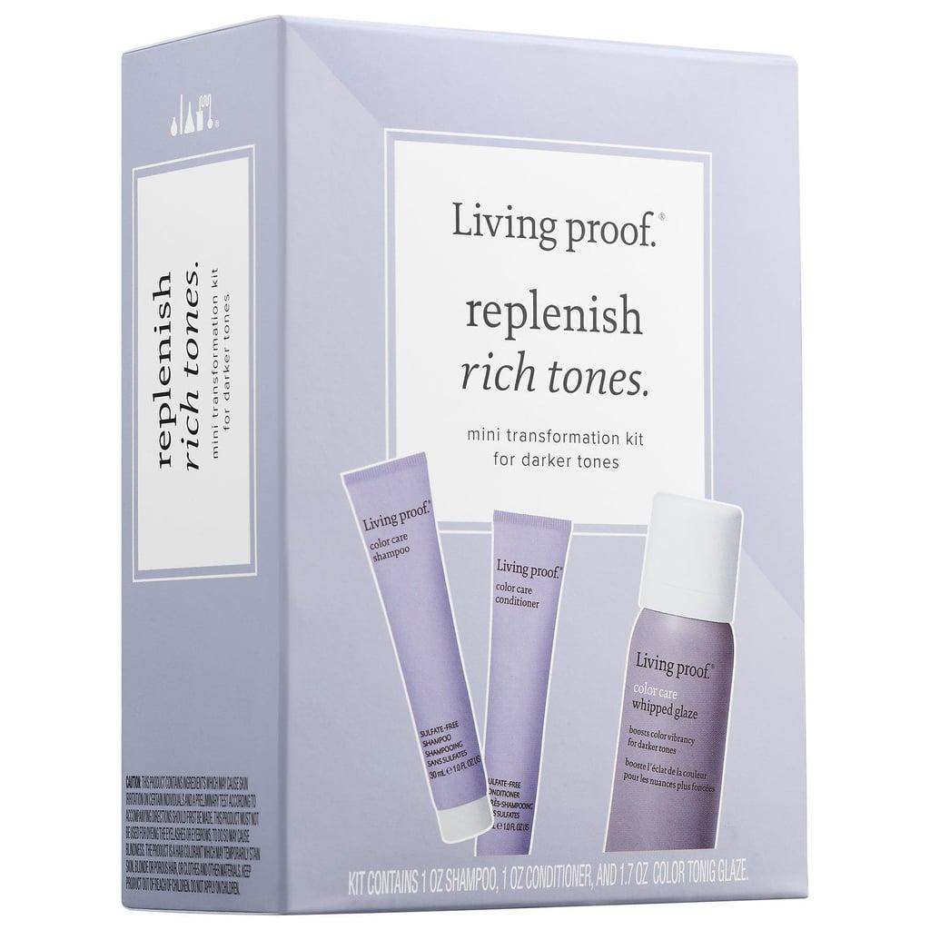 Living Proof Replenish Rich Tones Mini Transformation Kit
