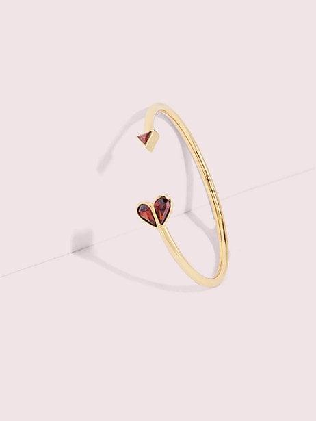 Rock Solid Stone Heart Flex Cuff