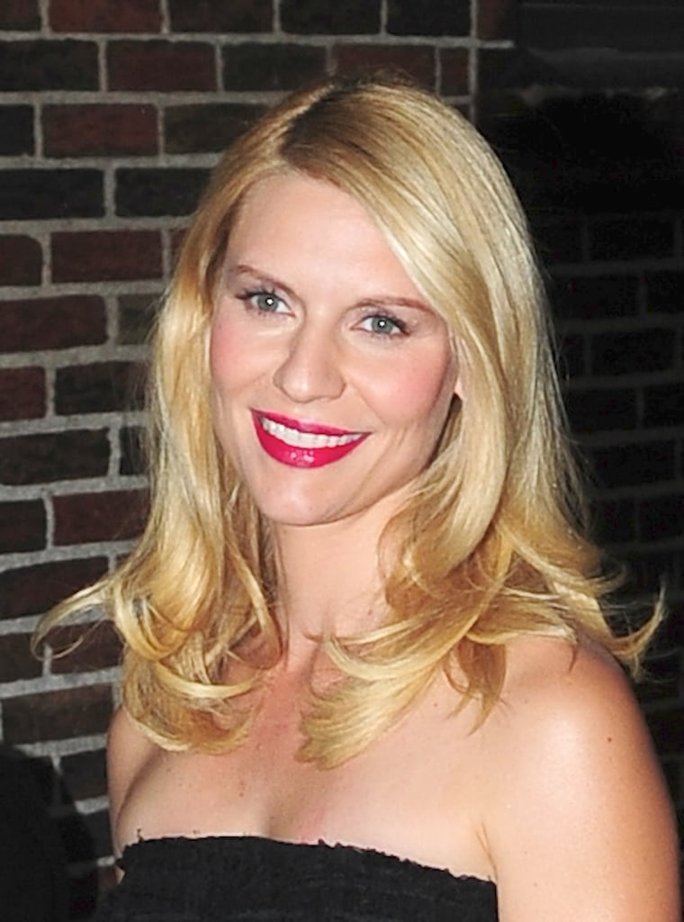 Pregnant Claire Danes Talks Baby Names