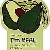 Tony Moly I'm Real Avocado Mask Sheet ($4)
