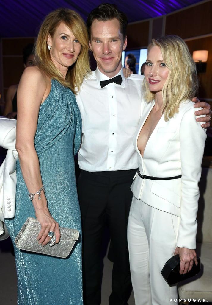 Laura Dern, Benedict Cumberbatch, and Naomi Watts