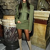 Jourdan Dunn at the Balmain Paris Fashion Week Show