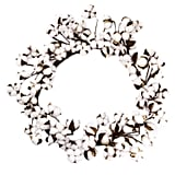 Cotton Boll Wreath ($60)