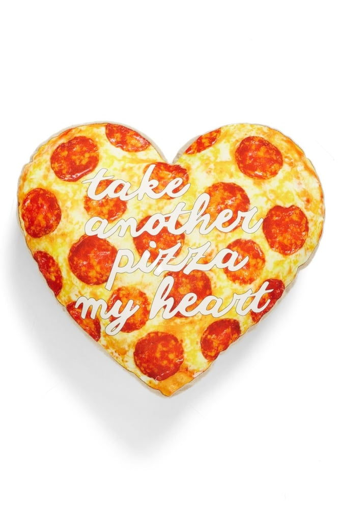 Pizza Heart Pillow ($40)