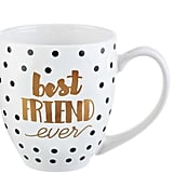 "Formations ""Best Friend Ever"" Mug in White/Gold"
