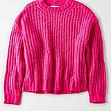 American Eagle Cozy Crew Neck Sweater