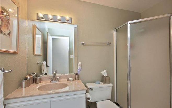 Bathroom updates for resale popsugar home for Model bathrooms pictures