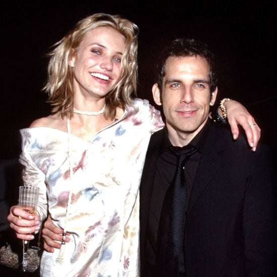 Cameron Diaz and Ben Stiller partied together in 1999.