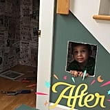 Dad Re-creates Harry Potter's Cupboard Under the Stairs