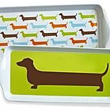 Happy Hot Dog Dessert Trays ($29 for set of 4)
