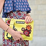 Give print mixing a spin and embrace the bright hues of Summer.