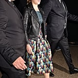 Princess Beatrice's Mary Katrantzou Peacock Dress