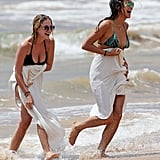Ashley Benson and Shay Mitchell's Pretty Little Beach Day