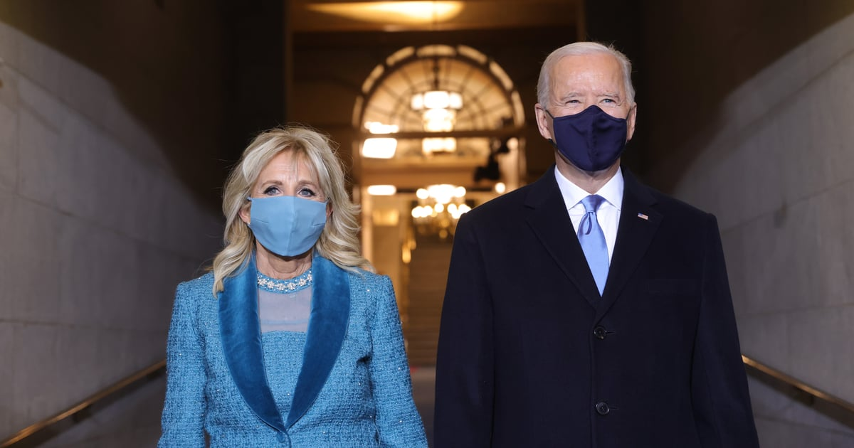 There's a Reason Dr. Jill Biden Chose Blue For Her Inauguration Outfit