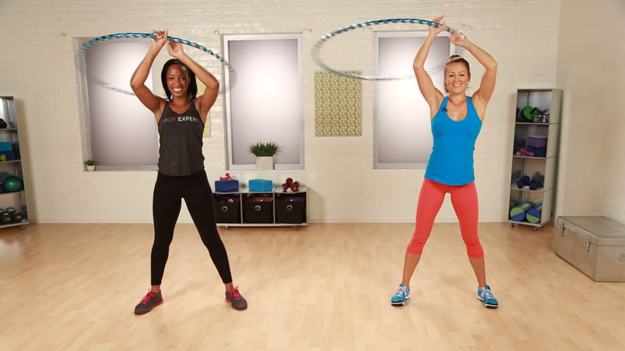 Whittle Your Waist and Tone Your Abs With Hoopnotica