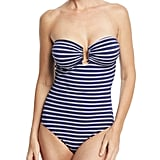 Melissa Odabash Argentina Striped One-Piece Bandeau Swimsuit